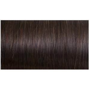 Tmavo hnedá / 40cm / 88g / Clip in vlasy